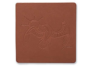 Picture of Single Leather Coasters L5654