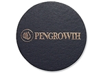 "Picture of Single Leather Coasters 3"" x 3"""