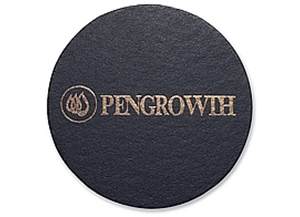 """Picture of Single Leather Coasters 3"""" x 3"""""""