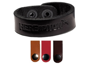 "Picture of Leather Bracelet .75"" L970"
