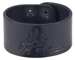 "Picture of Leather Bracelet 1.5"" L971"