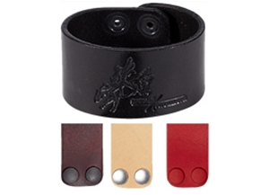 """Picture of Leather Bracelet 1.5"""" L971"""