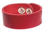 "Picture of Leather Bracelet 1"" L972"