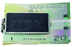 Picture of Leather Accent Money Clip L9010-15