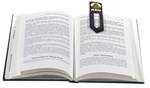Picture of Leather Bookmark L12