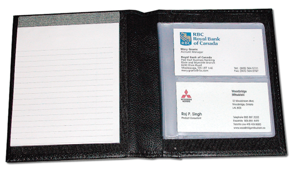 Dezinecorp notepad business card holder l416 close reheart Gallery