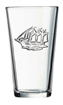 Picture of Ship Stamped Glass G0726