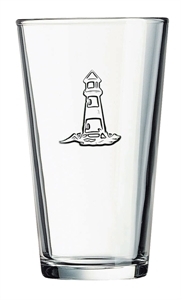 Picture of Light House Stamped Glass G0727