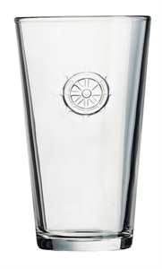 Picture of Wheel Stamped Glass G0728