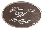 Picture of Oval Pewter Finish Buckle L9021