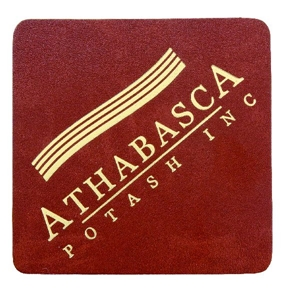 """Picture of Single Leather Coasters 4.25"""" x 4.25"""""""