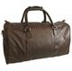 Leather travel/gym bag